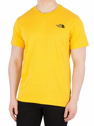The North Face Yellow Simple Dome T-Shirt