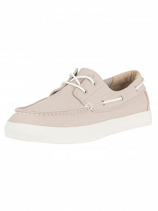 Timberland Beige Newport Bay Oxford Boat Shoes