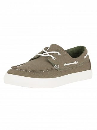 Timberland Grape Leaf Newport Bay Oxford Boat Shoes