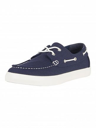 Timberland Black Iris Newport Bay Oxford Boat Shoes