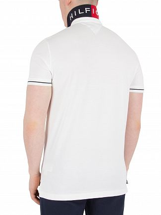 Tommy Hilfiger Bright White 1985 Regular Fit Polo Shirt