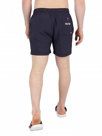 Tommy Hilfiger Navy Blazer Short Drawstring Swim Shorts