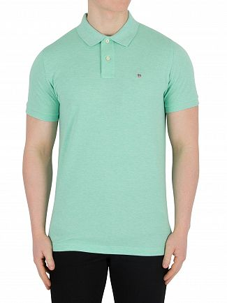 Gant Pistage Melange Original Pique Rugger Polo Shirt