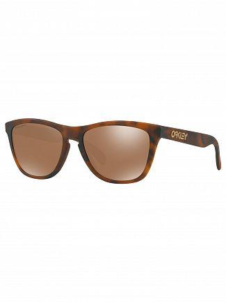 Oakley Matte Tortoise/Tungsten Frogskins Prizm Sunglasses