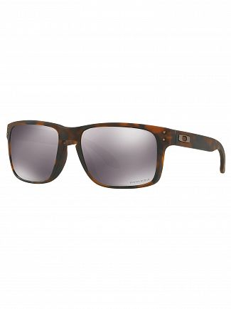 Oakley Matte Brown Tortoise/Black Iridium Holbrook Prizm Sunglasses