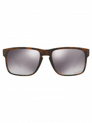 Oakley Matte Brown Tortoise/Black Iridium Holbrook Prizm Sunglasses