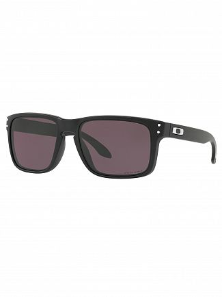 Oakley Matte Black/Grey Holbrook Prizm Sunglasses
