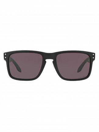 Oakley Matte Black/Grey Holbrook Prizm Sunglasses