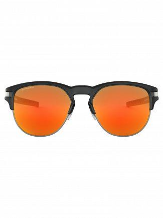 Oakley Polished Black Ink/Ruby Latch Key Prizm Sunglasses