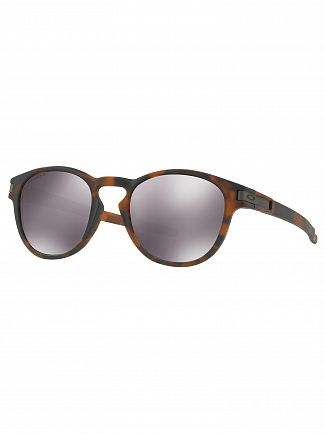 Oakley Matte Brown Tortoise/Black Iridium Latch Prizm Sunglasses