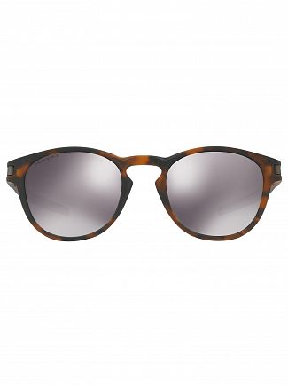 Oakley Matte Brown Tortoise/Black Iridium Latch Prizm Sunglasses