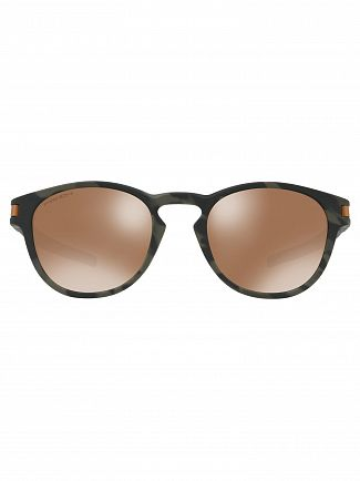 Oakley Tungsten Brown/ Olive Black Latch Prizm Sunglasses