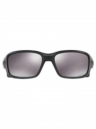 Oakley Matte Black/Black Iridum Straightlink Prizm Sunglasses
