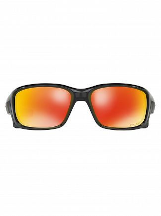 Oakley Black Ink/Prizm Ruby Straightlink Prizm Sunglasses