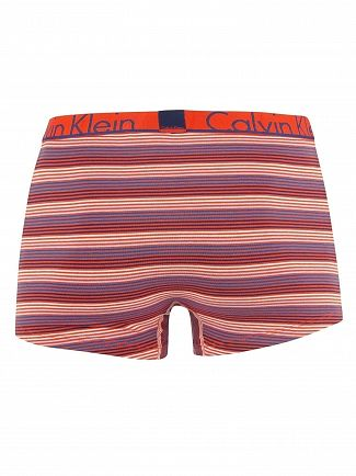 Calvin Klein Piano Summer Blue Stripe Trunks