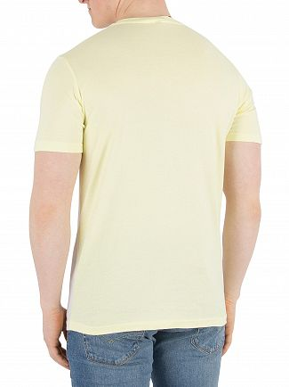 Ellesse Optic White/Tender Yellow Arbatax T-Shirt