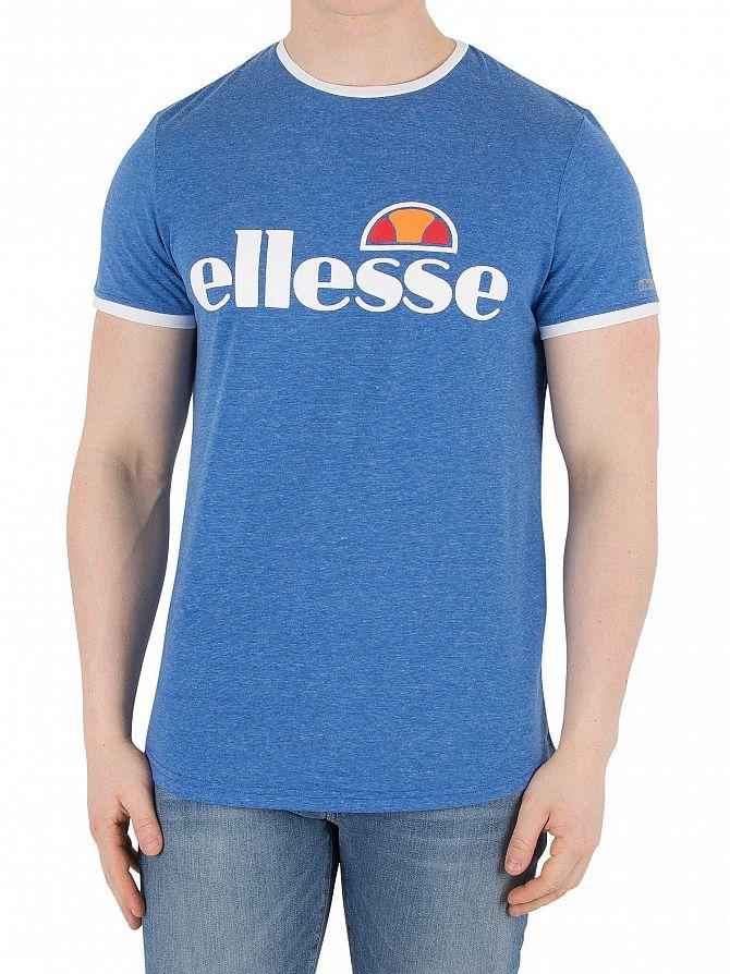 Ellesse Hombre Camiseta Impacto, Azul