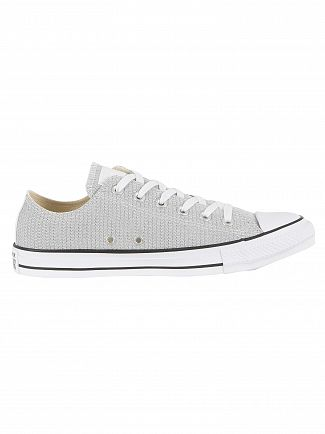 Converse White/Black/White CTAS OX Trainers