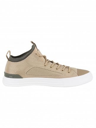 Converse Vintage Khaki/River Rock/White CTAS Ultra OX Trainers