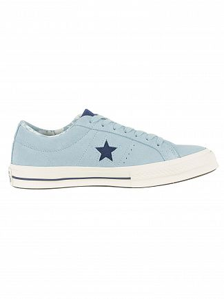 Converse Ocean Bliss/Navy/Egret One Star OX Trainers