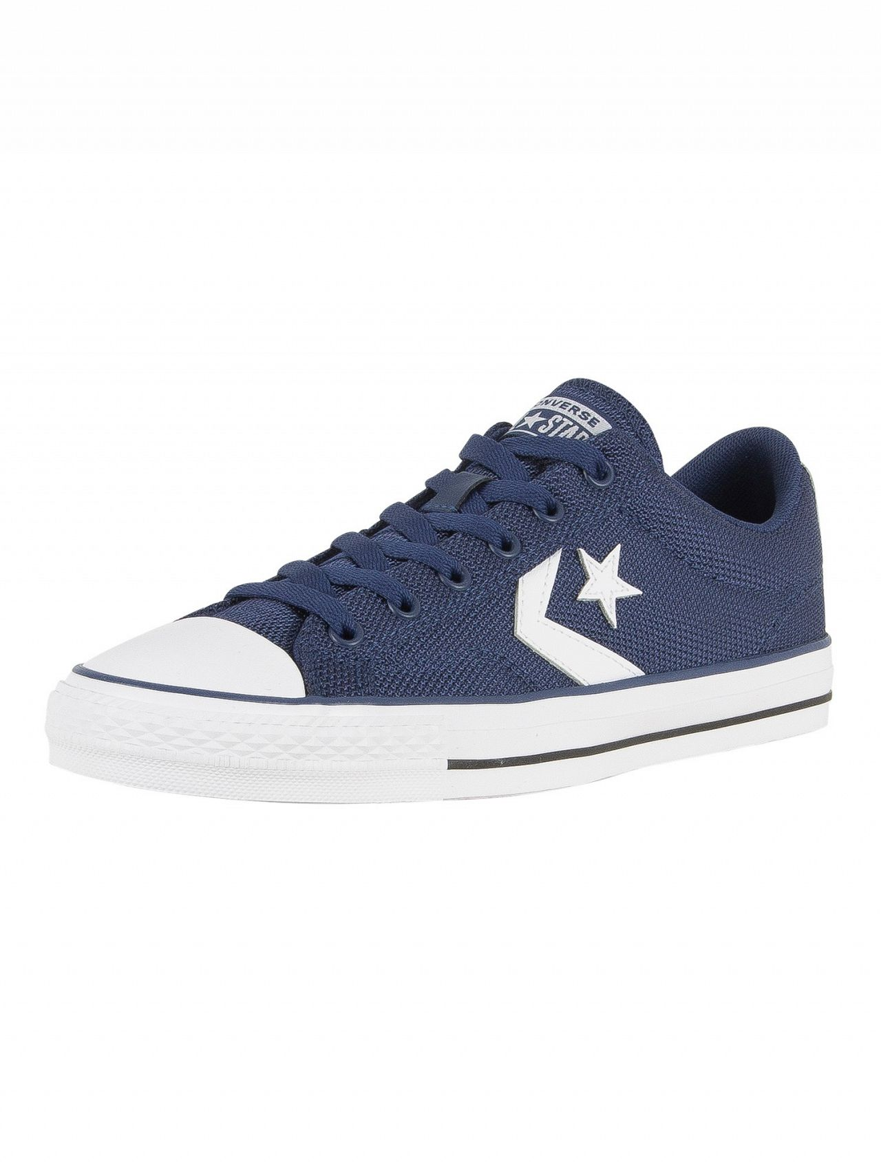 47498fa9eb72 ... best price converse navy white black star player ox trainers f2c34 0513a