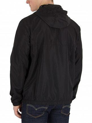 Fila Vintage Black Cipolla 1/2 Zip Pullover Jacket