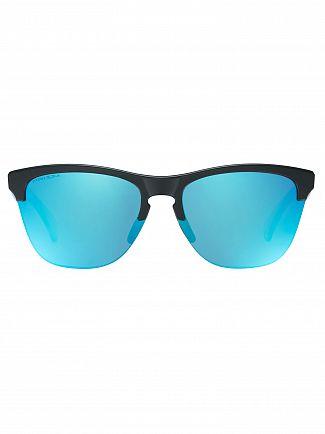 Oakley Matte Black/Prizm Sapphire Iridium Frogskin Lite Sunglasses