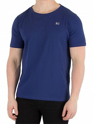 Tommy Hilfiger Blue Depths Rubber Logo T-Shirt