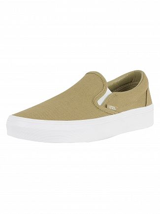 Vans Boa Classic Slip-On Mono Canvas Trainers