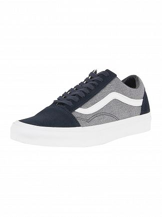Vans Blueberry/True White Old Skool Suiting Trainers