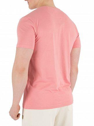 Lyle & Scott Pink Shake Logo T-Shirt
