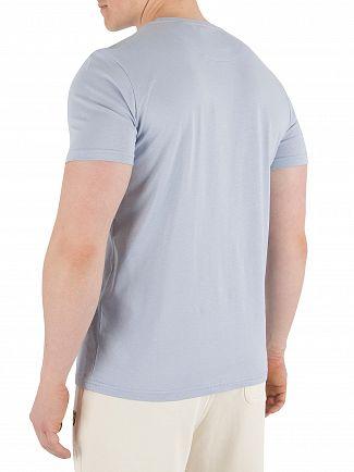 Lyle & Scott Stonewash Blue Logo T-Shirt