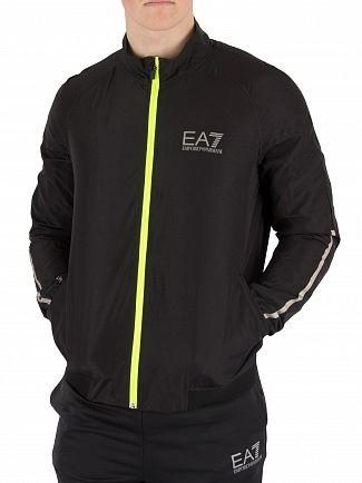 EA7 Black Ventus 7 Track Top