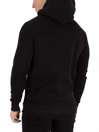 Fresh Couture Black Core Pullover Hoodie