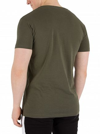 Fresh Couture Khaki Core T-Shirt