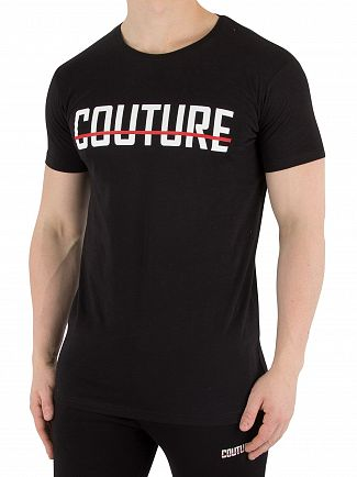 Fresh Couture Black Core T-Shirt