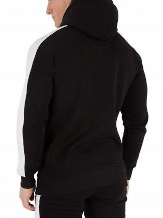 Fresh Couture Black Fitted Fleece Hoodie
