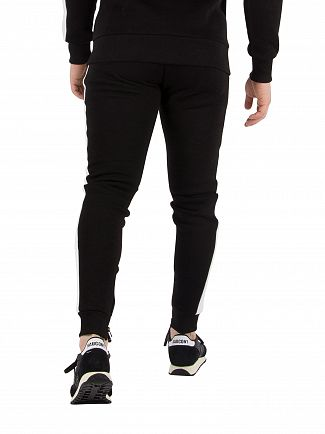 Fresh Couture Black Panel Joggers