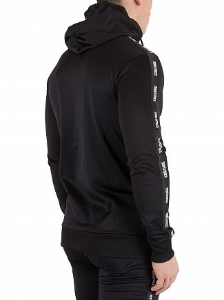 Fresh Couture Black Tapered Hoodie