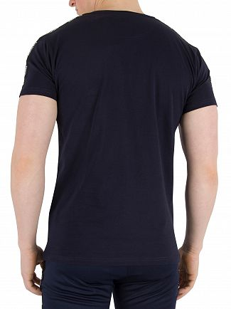 Fresh Couture Navy Tapered T-Shirt