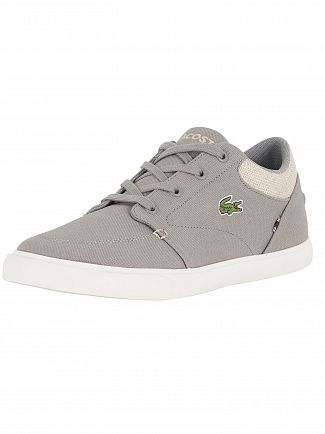 Lacoste Grey/Natural Bayliss 218 2 CAM Trainers