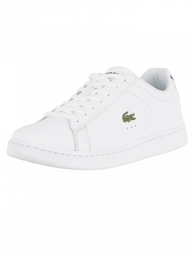 91b8b77f108 Lacoste Men s Carnaby Evo BL 1 SPM Leather Trainers