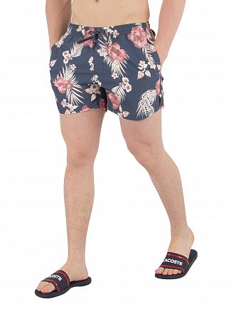 Sik Silk Navy Hazey Daze Swim Shorts