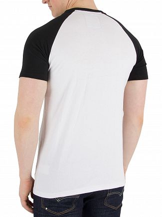 Superdry Optic/Night Club Shirt Shop Duo Raglan T-Shirt