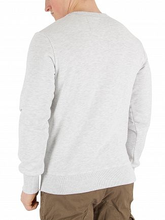 Superdry Ice Marl Varsity Embossed Sweatshirt