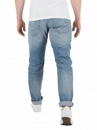 G-Star Medium Vintage Aged 3301 Straight Tapered Jeans