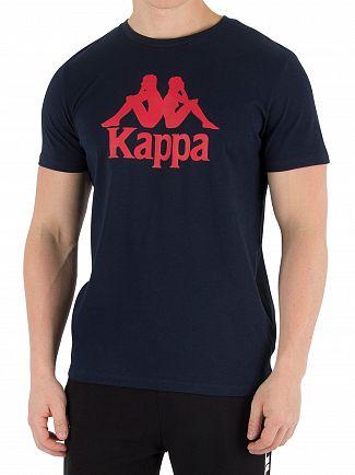 Kappa Blue Navy Authentic Estessi Slim T-Shirt