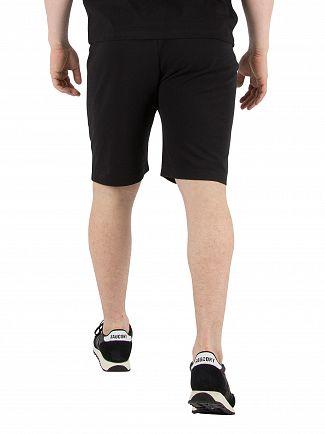 Kappa Black Authentic Zelat Slim Sweat Shorts