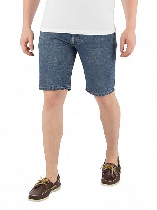 Levi's Blue eyes 501 Hemmed Shorts