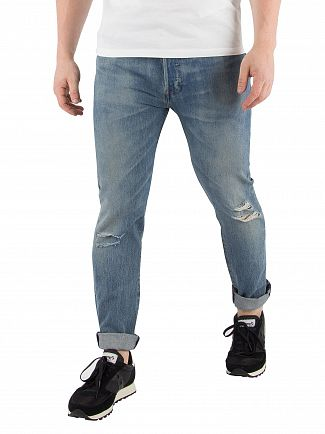 Levi's Single Player Warp 501 Skinny Jeans